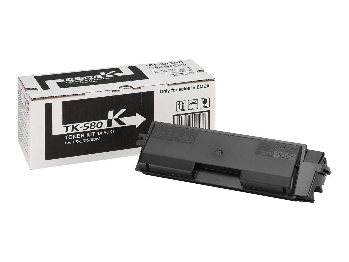 Kyocera TK 580K - Schwarz - Original - Tonerpatrone