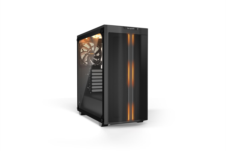 Vorschau: Be Quiet! Pure Base 500DX - Desktop - PC - Acrylnitril-Butadien-Styrol (ABS) - Stahl - Gehärtetes Glas - Schwarz - ATX,Micro ATX,Mini-ATX - Rot/Grün/Blau