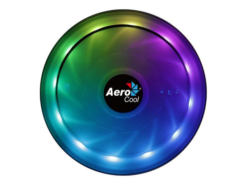 AEROCOOL ADVANCED TECHNOLOGIES AeroCool Core Plus - Prozessor-Luftkühler - (für: LGA775, LGA1156, AM2, AM2+, AM3, LGA1155, AM3+, FM1, FM2, LGA1150, LGA1151, AM4)