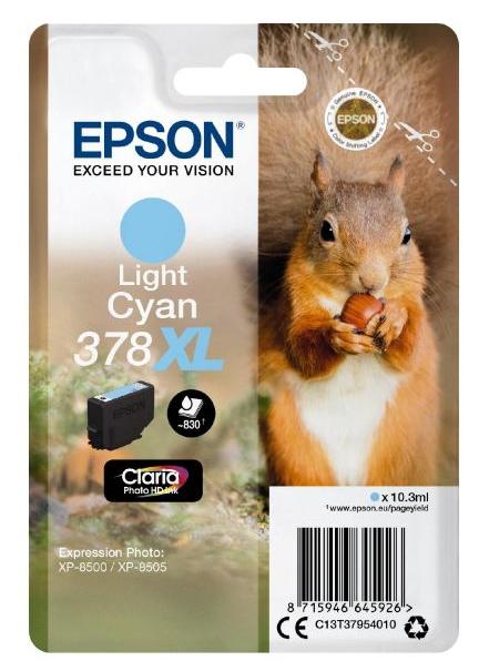 Epson 378XL 10.3ml 830Seiten Helle Cyan Tintenpatrone