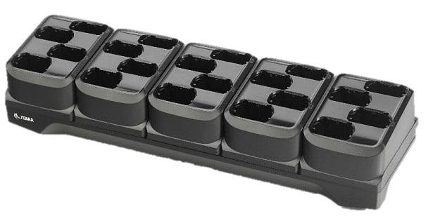 Zebra 20-slot battery charger - Batterieladegerät