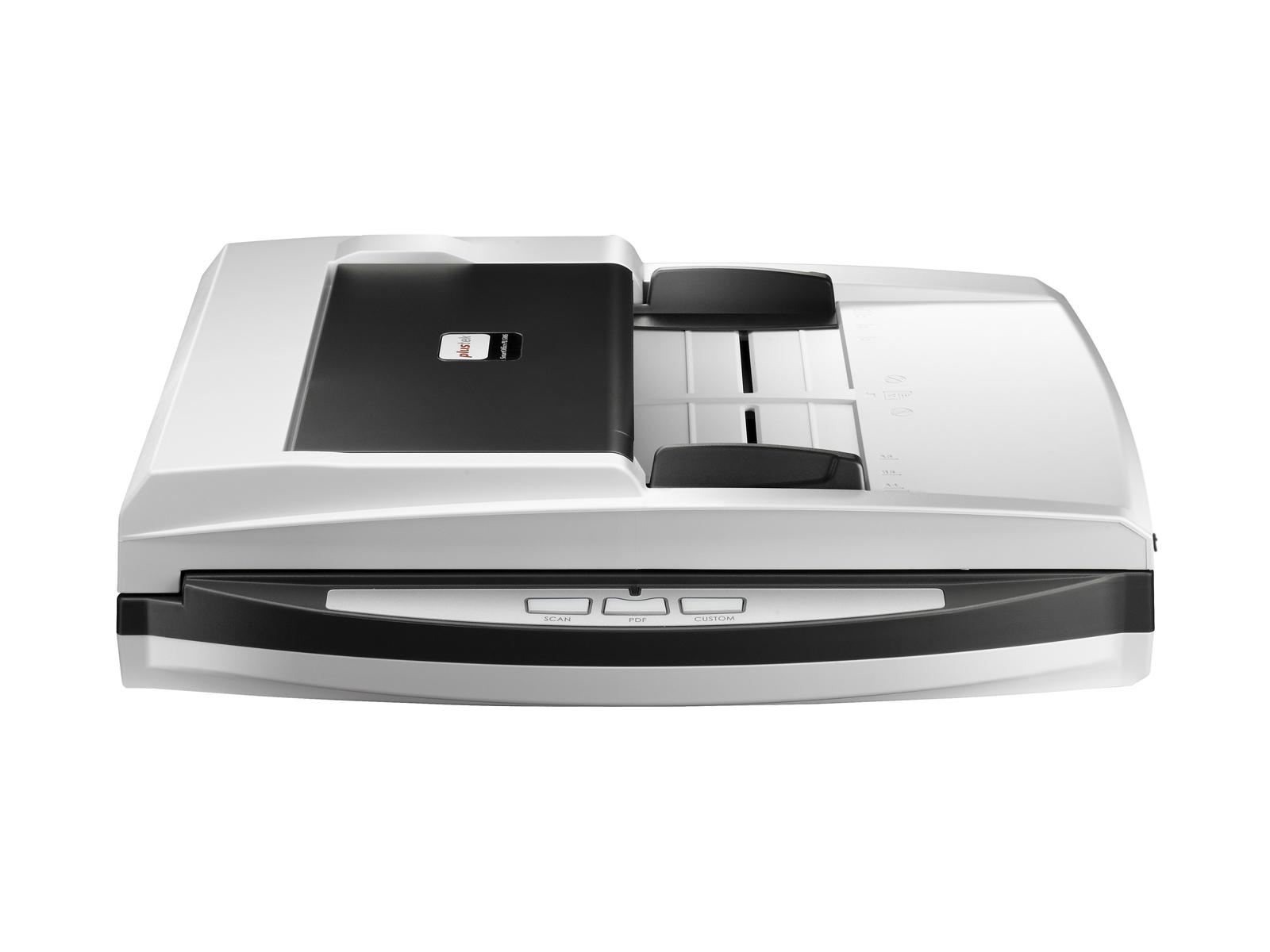 Plustek SmartOffice PN2040 Flachbettscanner 600 x 600DPI A4 Schwarz - Weiß