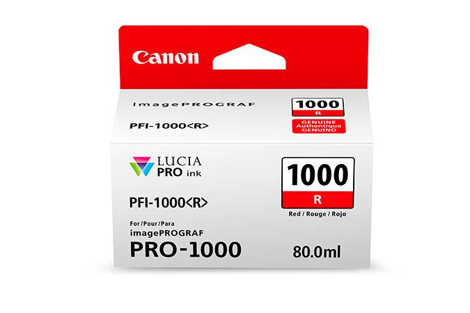 Canon PFI-1000 R 80ml Rot Tintenpatrone