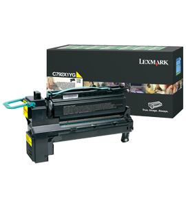 Lexmark C792X1YG Laser cartridge 20000Seiten Gelb Lasertoner / Patrone