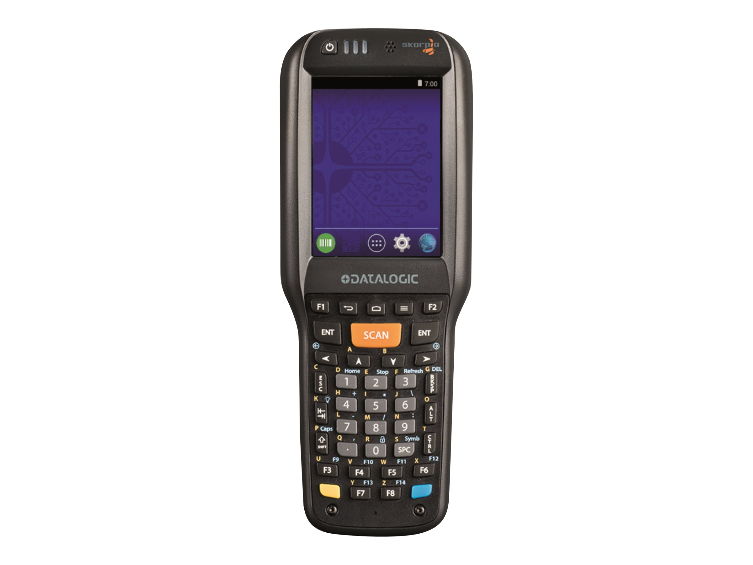 "Datalogic Skorpio X4 - Datenerfassungsterminal - robust - Win Embedded Compact 7 - 8 GB - 8.1 cm (3.2"")"
