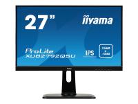 ProLite XUB2792QSU-B1 27Zoll 2K Ultra HD IPS Matt Schwarz Flach Computerbildschirm LED display