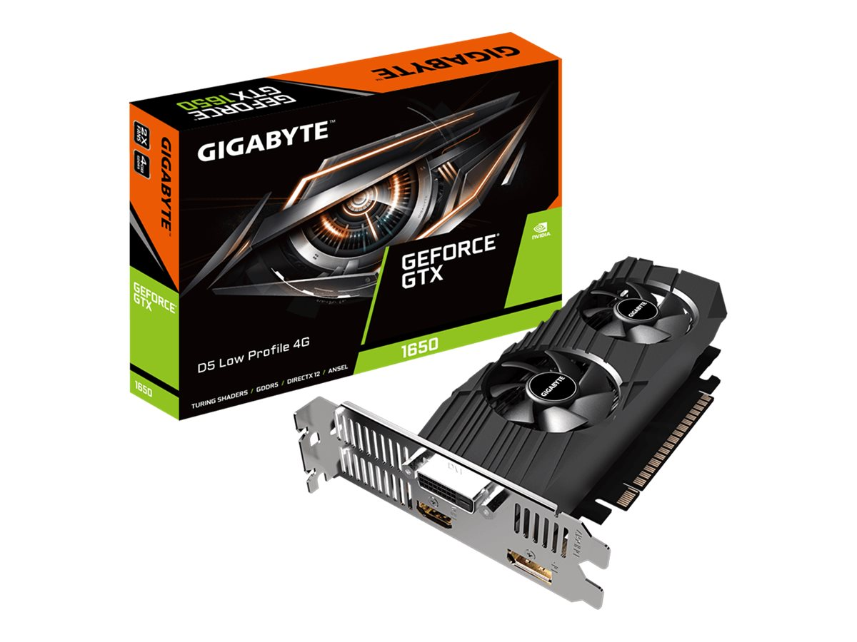Vorschau: Gigabyte GeForce GTX 1650 D5 Low Profile 4G - Grafikkarten