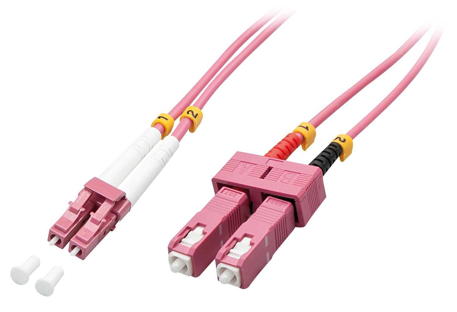 Lindy Patch-Kabel - LC Multi-Mode (M) - SC multi-mode (M)