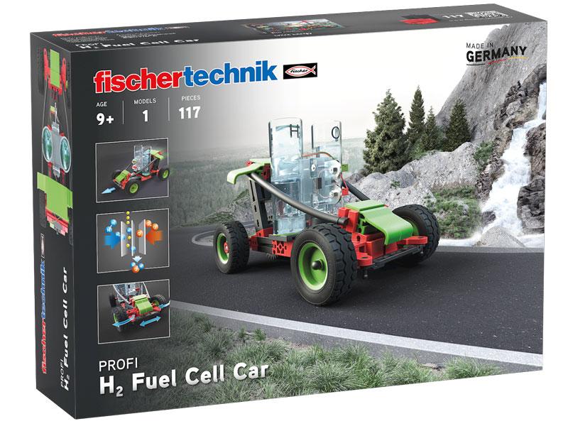 Vorschau: fischertechnik H2 Fuel Cell Car - Bausatz - Junge - 117 Stück(e)