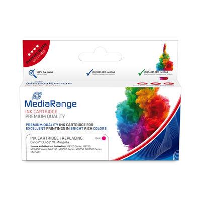 MEDIARANGE MRCC551MXL - Compatible - Magenta - Canon - 1 Stück(e) - CLI-551MXL