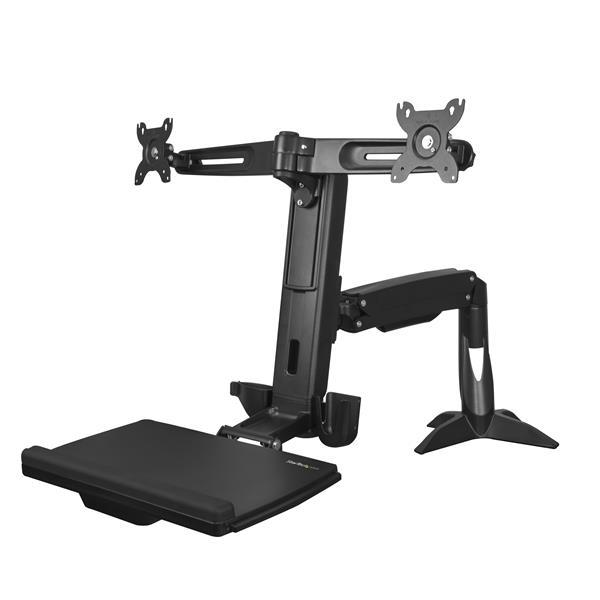 StarTech.com Sitz- / Steh Dual Monitor Arm