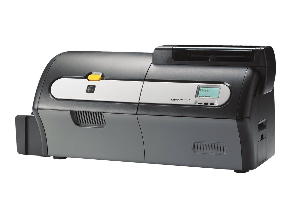Zebra ZXP Series 7 - Plastikkartendrucker - Farbe - Duplex - Thermosublimations-Rückübertragung - CR-80 Card (85.6 x 54 mm)