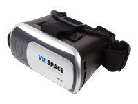 LogiLink Virtual-Reality-Brille - Schwarz/Silber