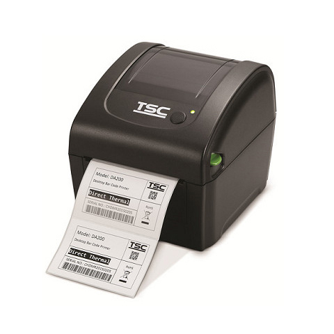 TSC DA220 - Direkt Wärme - POS-Drucker - 203 x 203 DPI - 6 ips - 152,4 mm/sek - 1D,2D,AZTECCODE,CODABAR (NW-7),Code 11,Code 128 (A/B/C),Code 39,Code 93,EAN128,EAN13,EAN8,GS1...