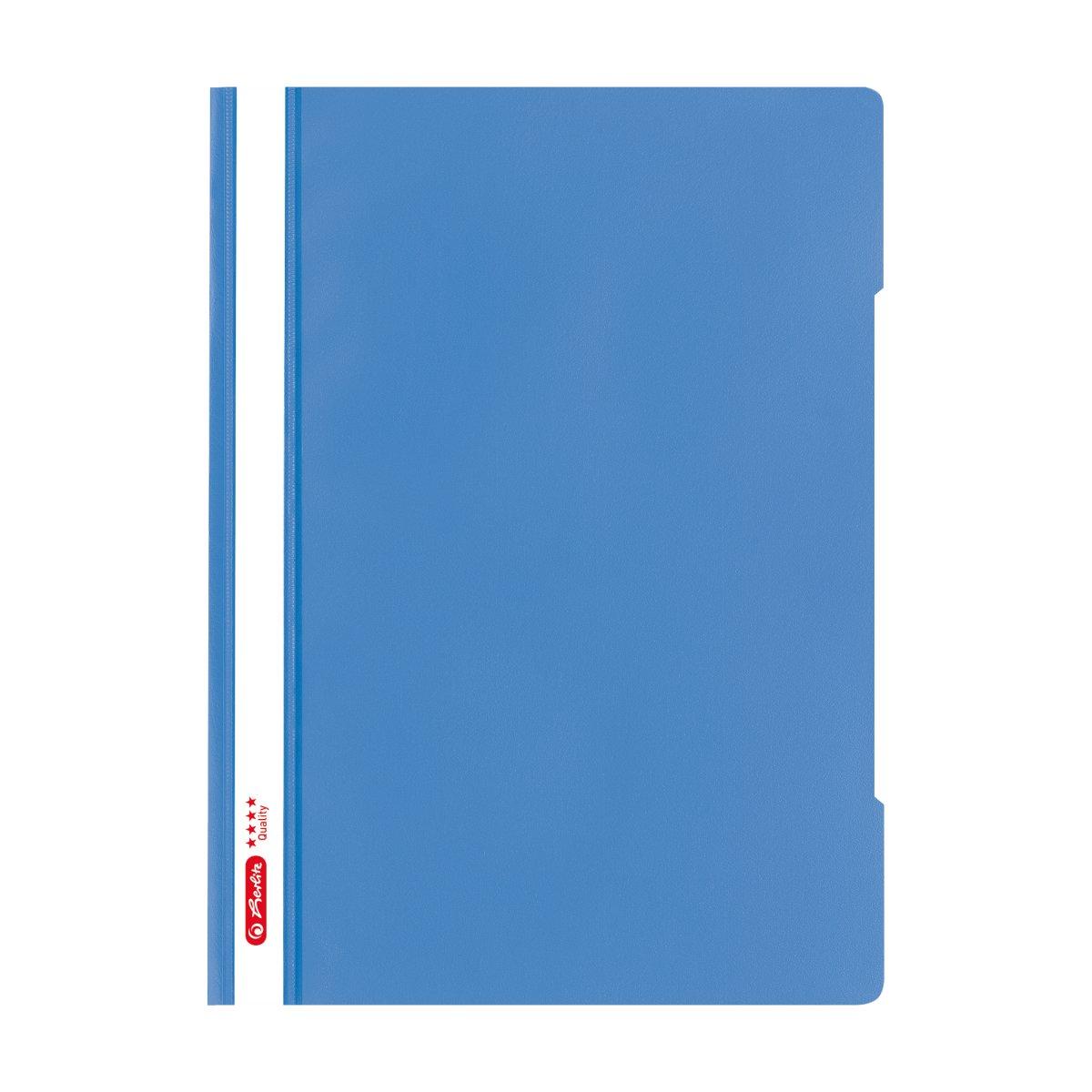 Herlitz 50016228 - Blau - Transparent - Polypropylen (PP) - Matt - A4 - 1 Stück(e) - Deutschland