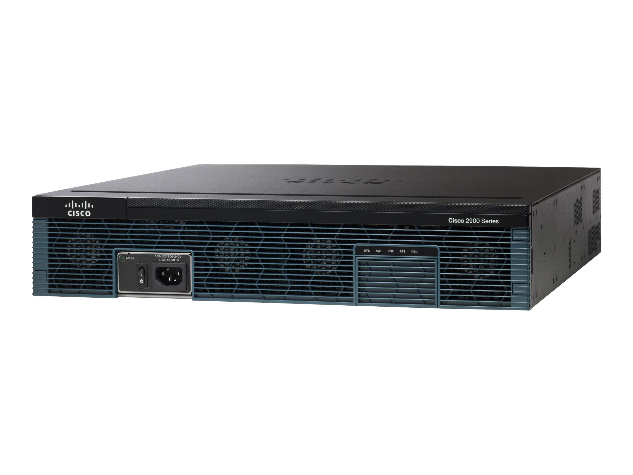 Cisco 2921 Router(CISCO2921/K9) - REFURB
