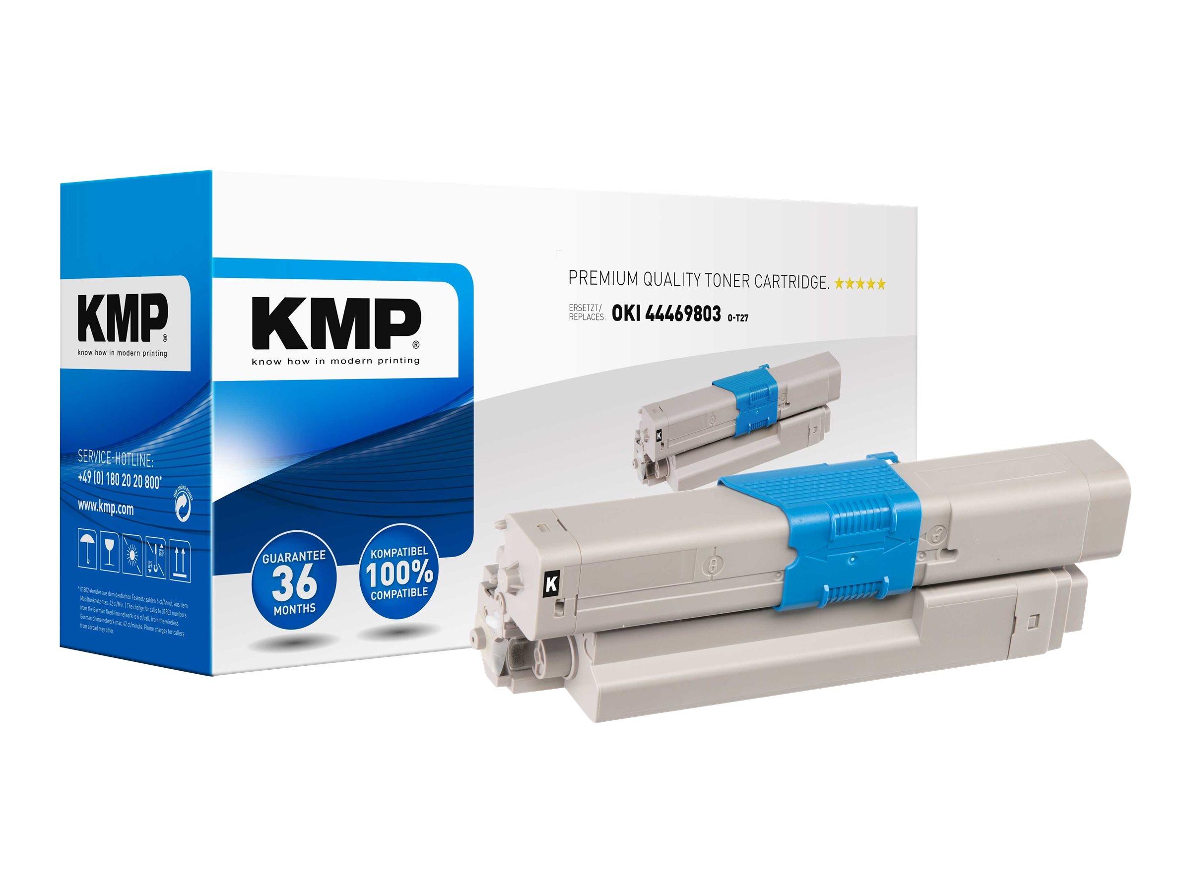 Vorschau: KMP O-T27 - 65 g - Schwarz - compatible - Tonerpatrone
