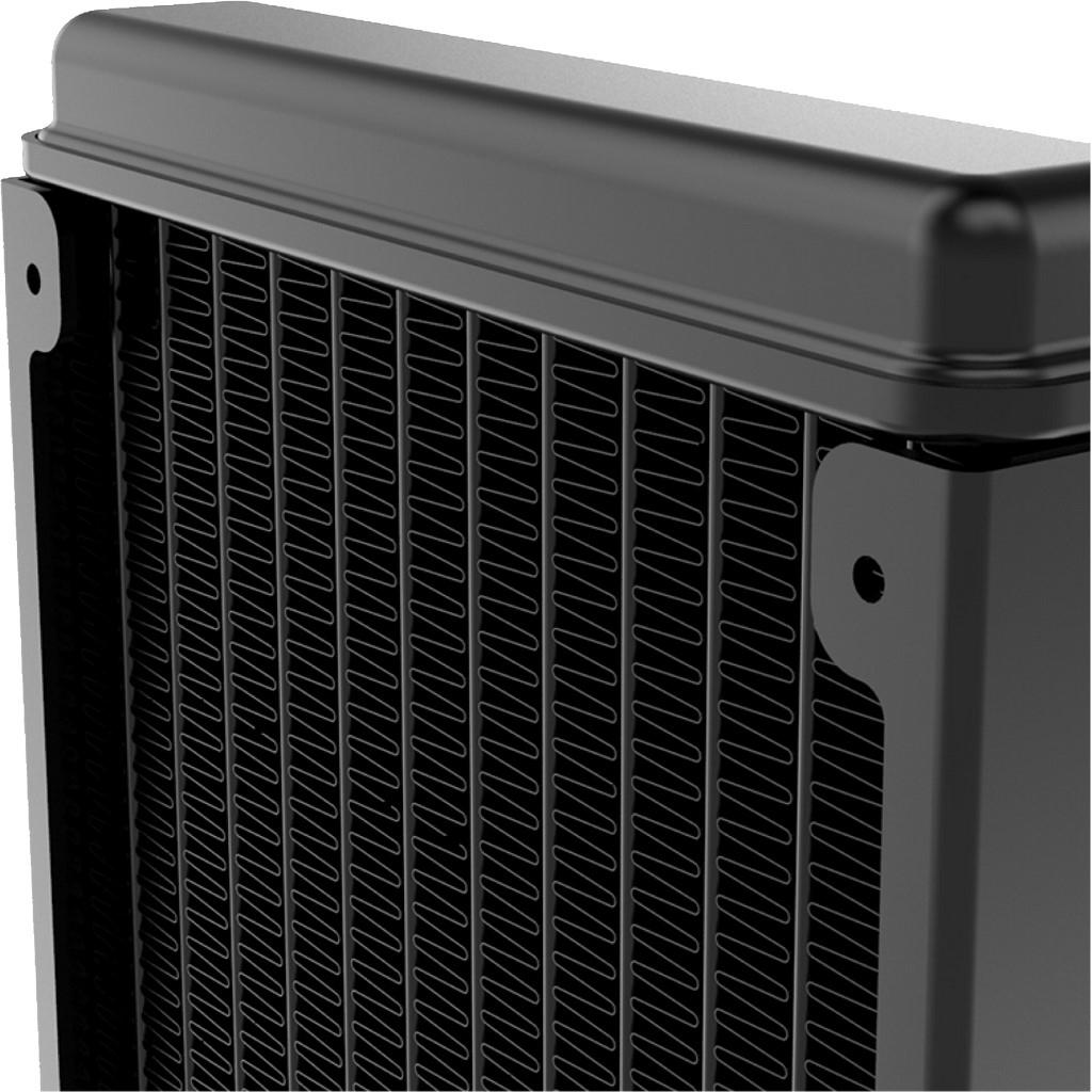 Inter-Tech ALSEYE Max 240 - Prozessor-Flüssigkeitskühlsystem - (für: LGA775, LGA1156, AM2, AM2+, LGA1366, AM3, LGA1155, AM3+, LGA2011, FM1, FM2, LGA1150, LGA1151, AM4, LGA2066 (Square ILM)