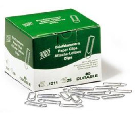 Durable 121125 - Metallisch - 1000 Stück(e)