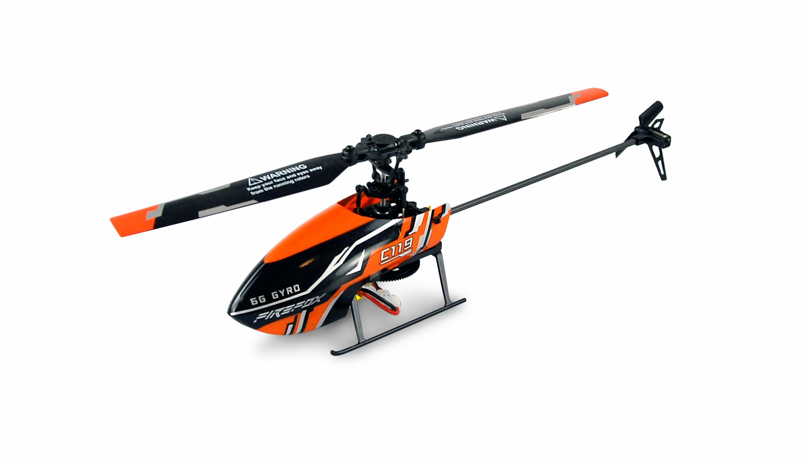 Amewi AFX4 - Helikopter - Flugbereit (RTF) - Elektromotor - 1 Rotoren - Junge/Mädchen - 14 Jahr(e)