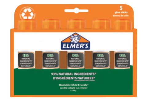 Elmers Klebestift Pure Glue 20G - 5er Blister