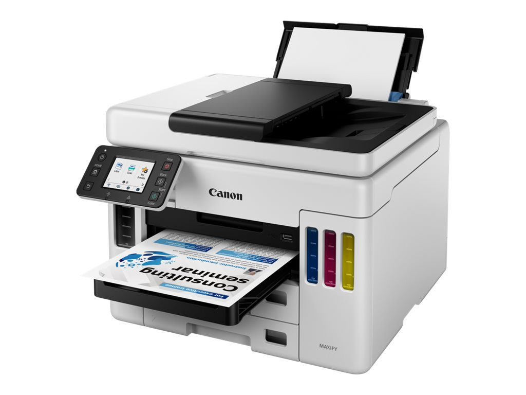 Vorschau: Canon MAXIFY GX7050 - Multifunktionsdrucker - Farbe - Tintenstrahl - refillable - Legal (216 x 356 mm)/