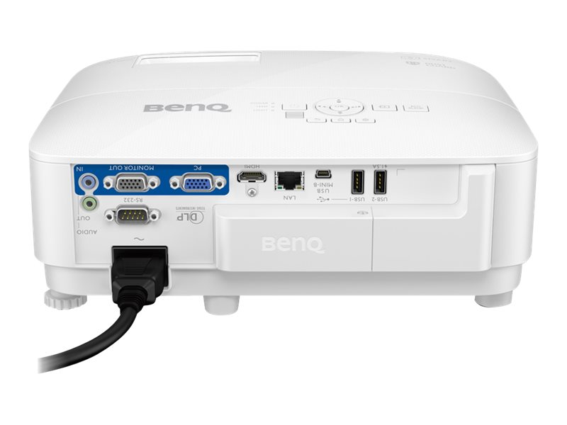 BenQ EW800ST - DLP-Projektor - tragbar - 3D - 3300 lm - WXGA (1280 x 800)