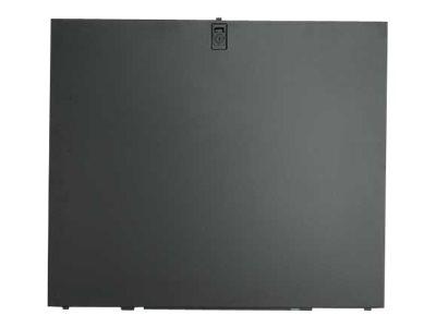 APC Rackpaneel - Seite - Schwarz (Packung mit 2)