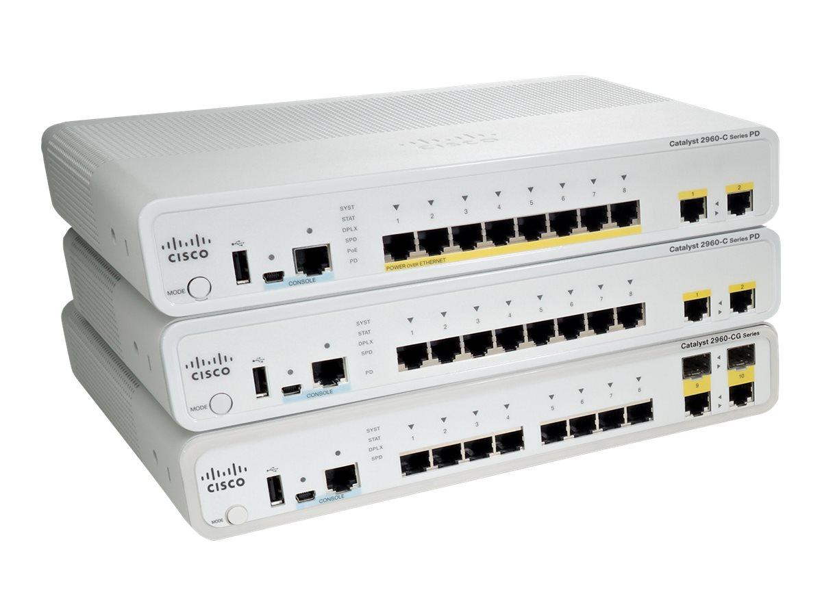 Cisco Catalyst 2960CPD-8TT-L - Switch (WS-C2960CPD-8TT-L)