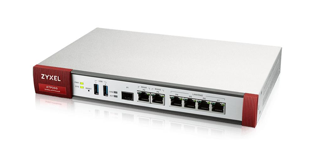 ZyXEL ATP200 - 2000 Mbit/s - 500 Mbit/s - 45,38 BTU/h - 529688,2 h - FCC Part 15 (Class B) - CE EMC (Class B) - C-Tick (Class B) - BSMI - LVD (EN60950-1) - BSMI - Verkabelt