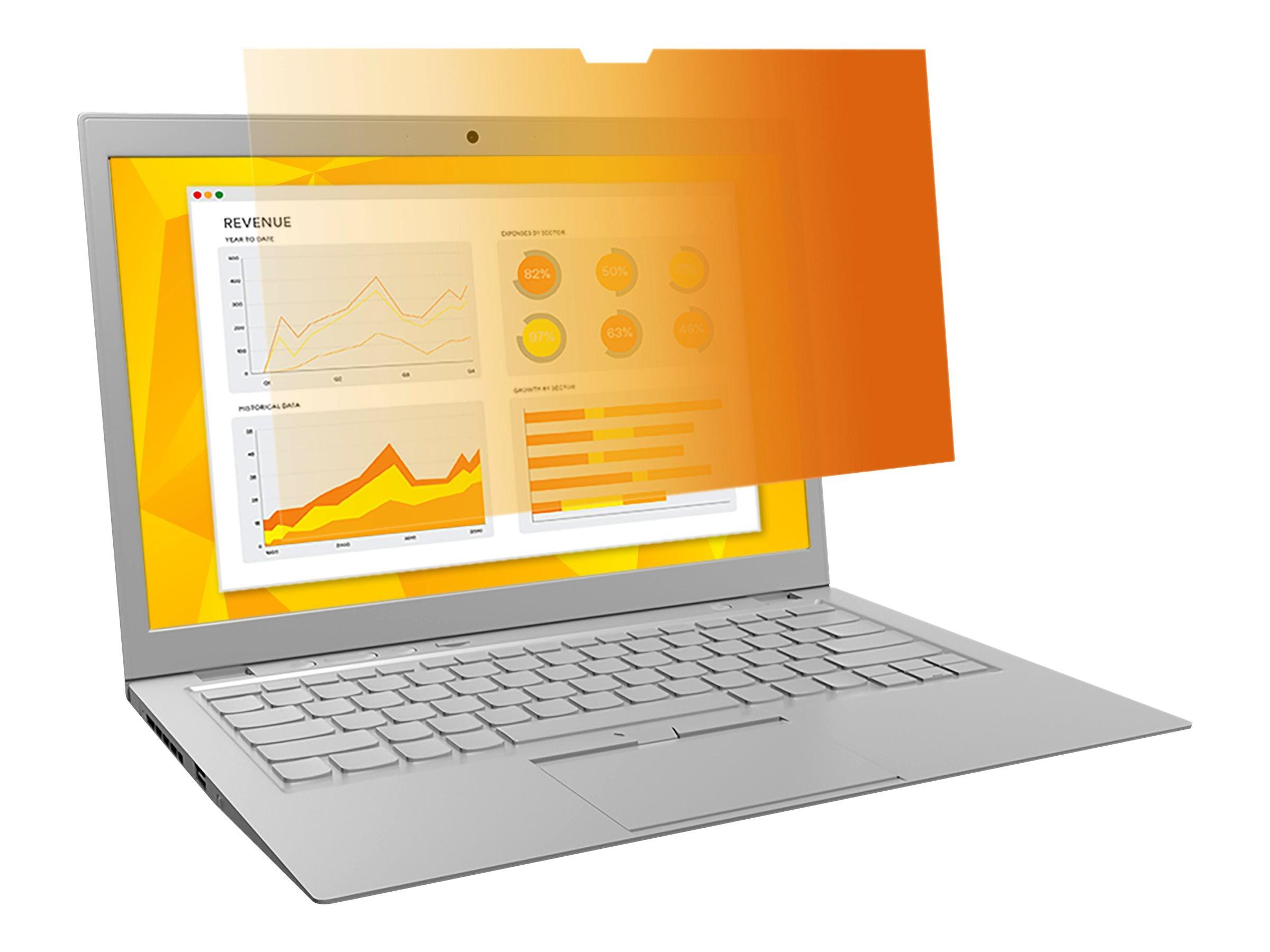 "3M Blickschutzfilter Gold 14"" Laptop with COMPLY Attachment System - Blickschutzfilter für Notebook - 35,6 cm Breitbild (14"" Breitbild)"