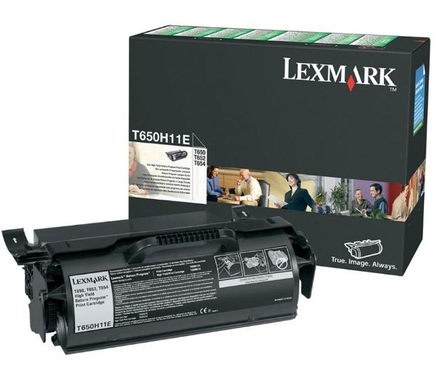 Lexmark T650H11E 25000Seiten Schwarz Lasertoner / Patrone