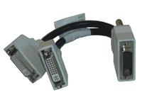CFO:LFH59-KABEL DVI-Kabel 2 x DVI Schwarz