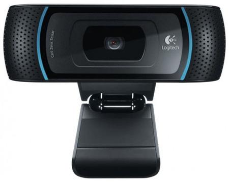 Logitech B910 HD 5MP USB 2.0 Schwarz Webcam