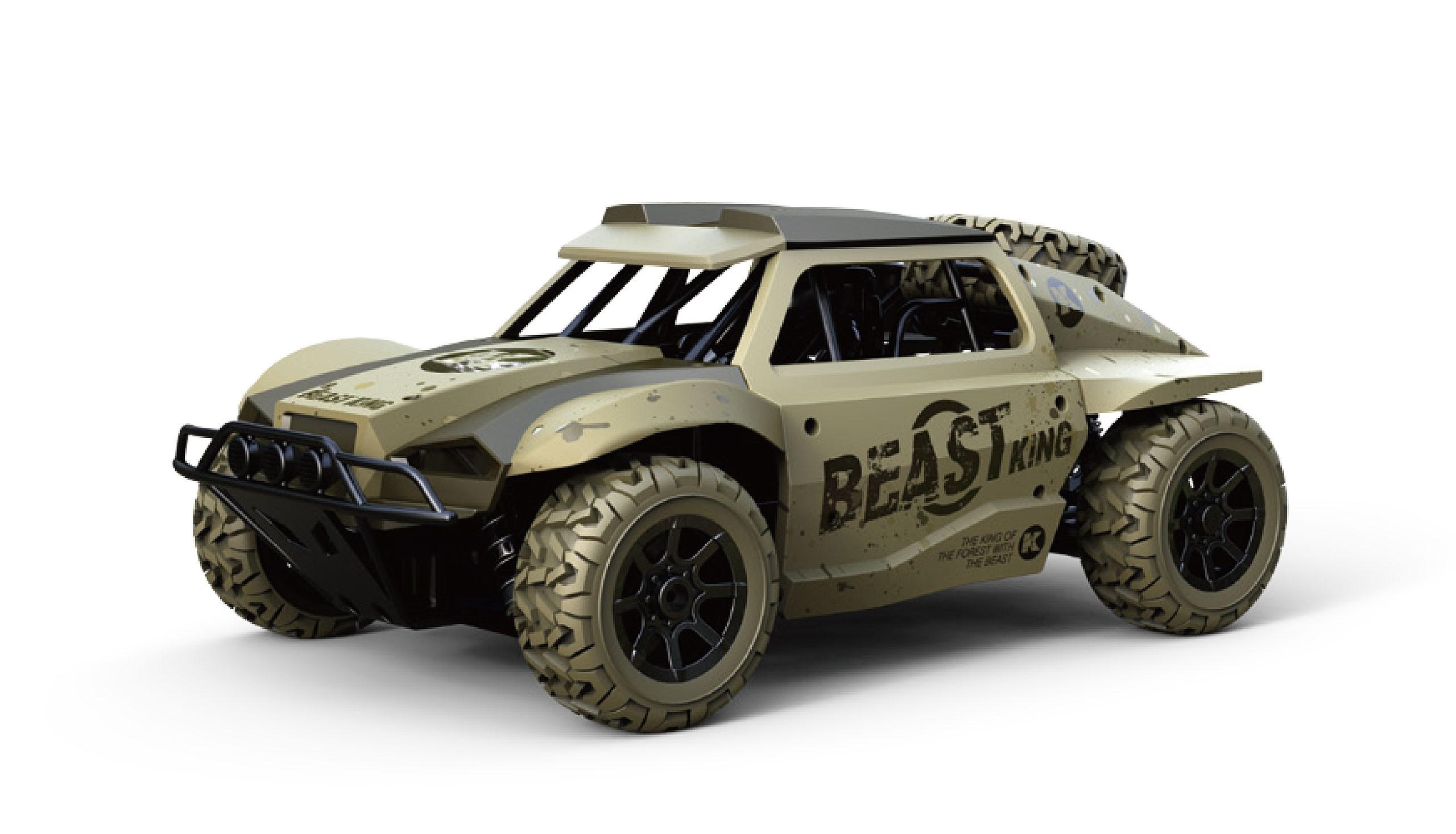 Amewi 22332 - Buggy - Elektromotor - 1:18 - Betriebsbereit (RTR) - Sand - Allradantrieb
