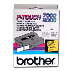 Brother TX TX651 Etiketten / Beschriftungsbänder