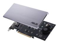 HYPER M.2 X16 CARD V2 - PCIe - M.2 - PCIe 3.0 - 128 Gbit/s - 202 mm - 13 mm