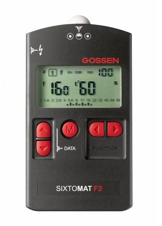 GOSSEN H264A Sixtomat F2 Black light meter LCD - 1 x AA
