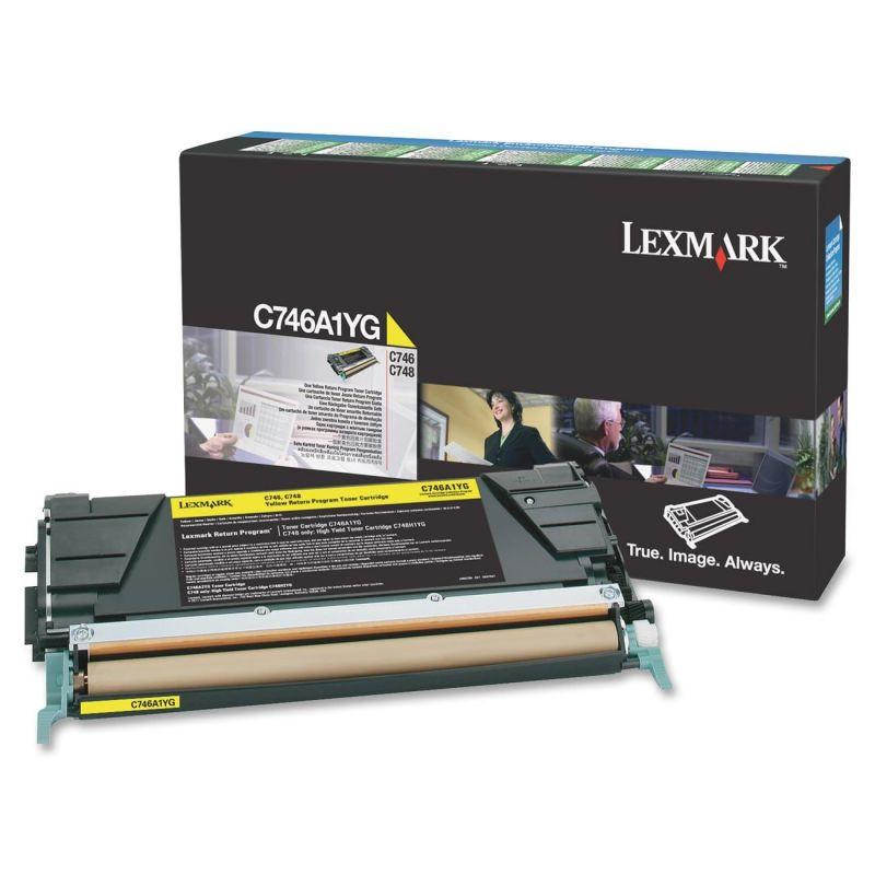 Lexmark C746A1YG Laser cartridge 7000Seiten Gelb Lasertoner / Patrone