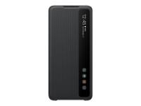 Clear View Cover EF-ZG988 - Flip-Hülle für Mobiltelefon - Schwarz
