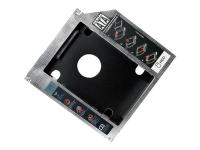 AD0016 HDD / SSD-Gehäuse 2.5Zoll Schwarz - Metallisch storage drive enclosure