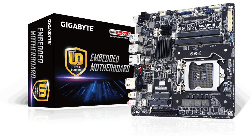 Gigabyte GA-H110TN-M - 1.0 - Mainboard