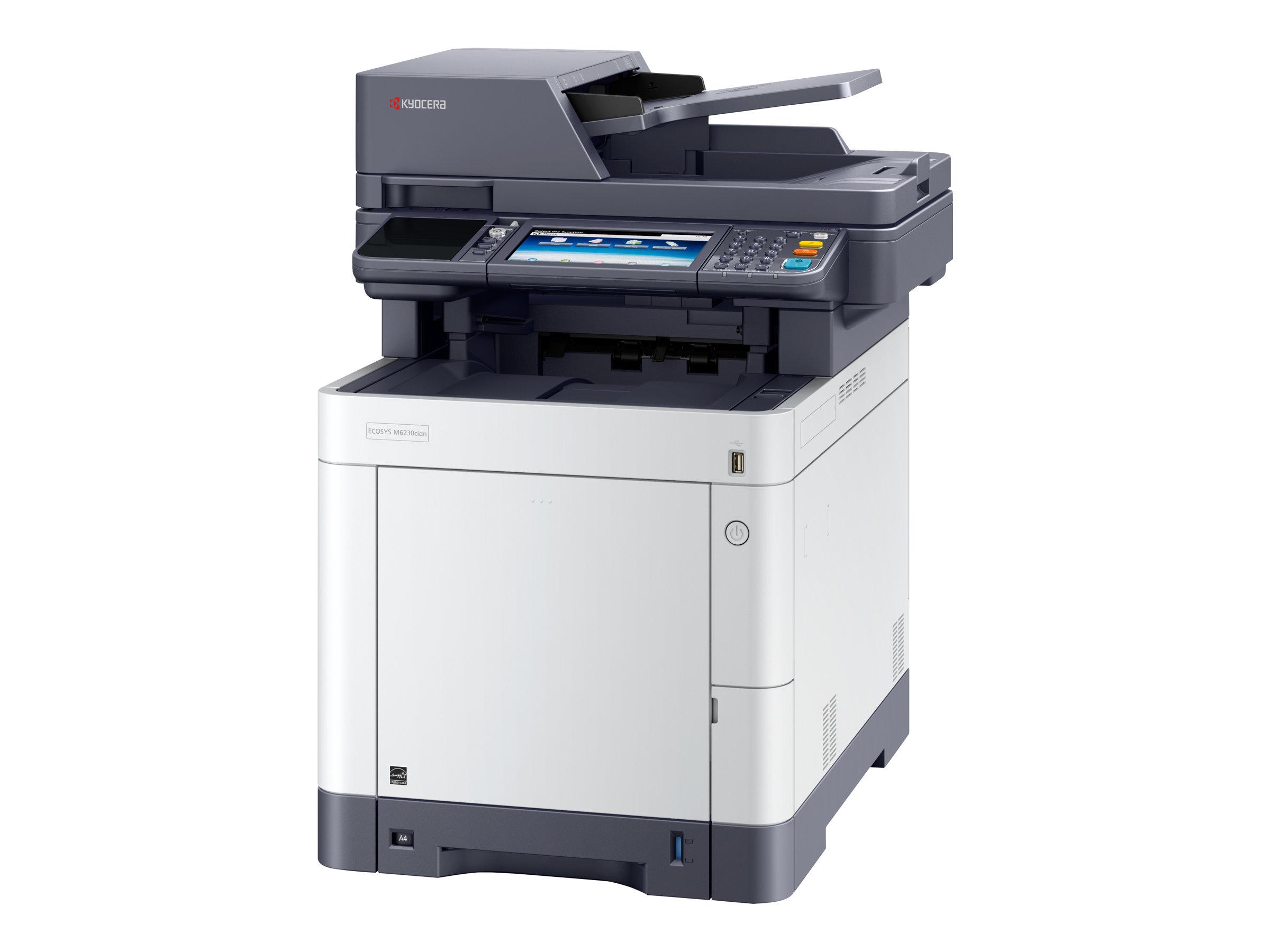 Kyocera ECOSYS M6230cidn - Multifunktionsdrucker - Farbe - Laser - Legal (216 x 356 mm)/