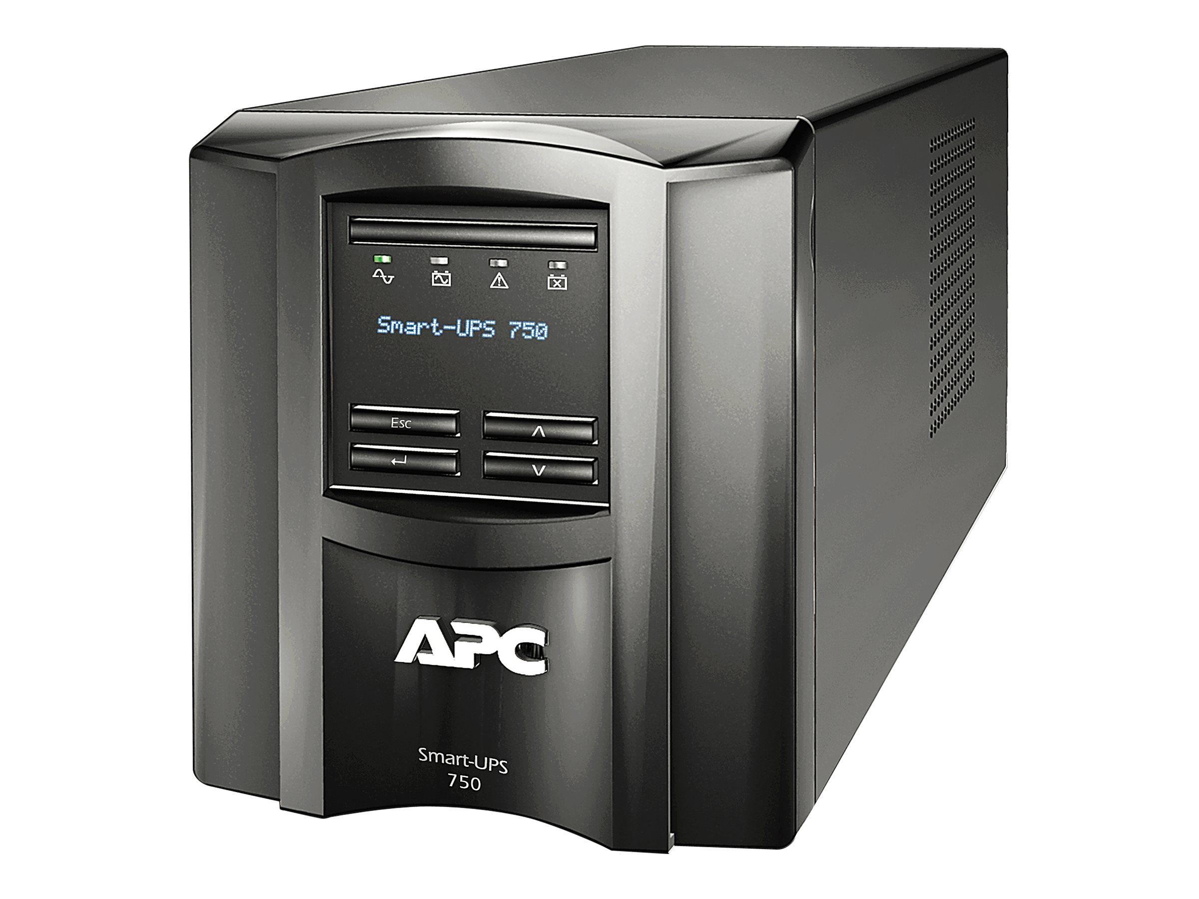 APC Smart-UPS SMT750IC - USV - Wechselstrom 220/230/240 V