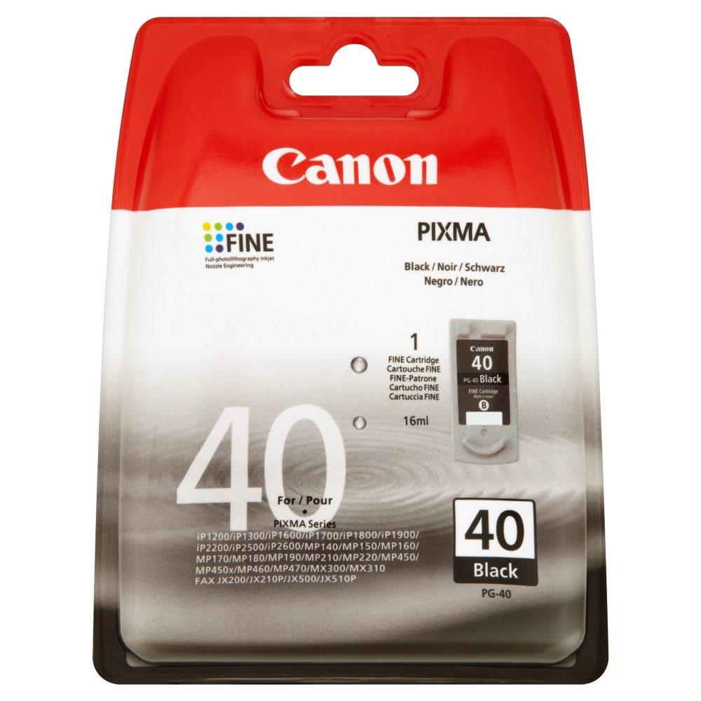 Canon PG-40 Schwarz Tintenpatrone