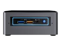 NUC NUC7I5BNHXF 2.2GHz i5-7260U Nettop Schwarz - Grau Mini-PC