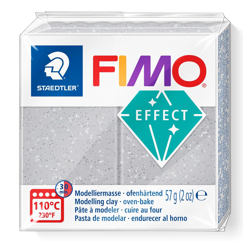 Vorschau: STAEDTLER FIMO 8020 - Knetmasse - Silber - Erwachsene - 1 Stück(e) - Glitter silver - 1 Farben