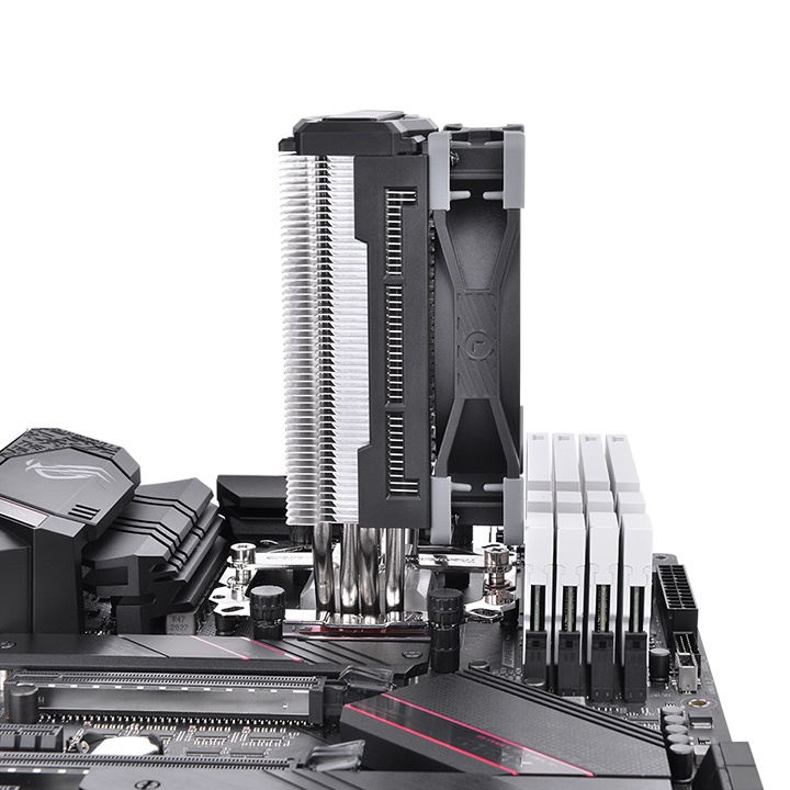 Thermaltake TOUGHAIR 310 - Prozessor-Luftkühler - (für: LGA1156, AM2, AM2+, AM3, LGA1155, AM3+, FM1, FM2, LGA1150, LGA1151, AM4, LGA1200)