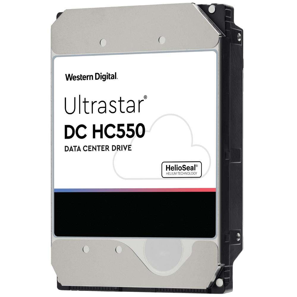 WD Ultrastar DC HC550 - 3.5 Zoll - 18000 GB - 7200 RPM - SAS