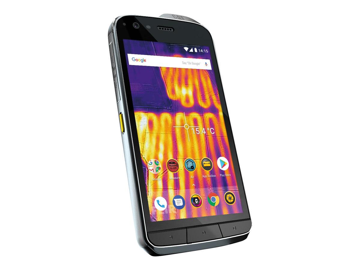 """CAT S61 - Smartphone - Dual-SIM - 4G LTE - 64 GB - microSD slot - GSM - 5.2"""" - 1920 x 1080 Pixel - IPS - RAM 4 GB (8 MP Vorderkamera)"""